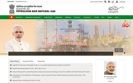 Petroleum and Natural Gas Uneecops Client