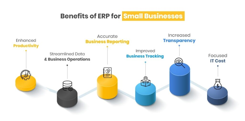 benefits of ERP for Small Business