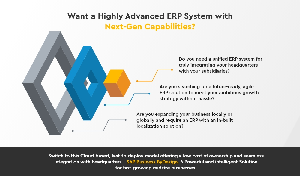 ERP System with Next-Gen Capabilities